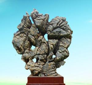 景观石在园林中的使用作用